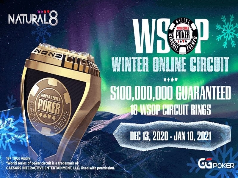 Online Poker News: PokerStars Biggest $55 & Blowout Series; GGNetwork WSOP Winter Online Circuit Series; World College Poker Student Cup on PokerBros; Run It Once returns to Germany