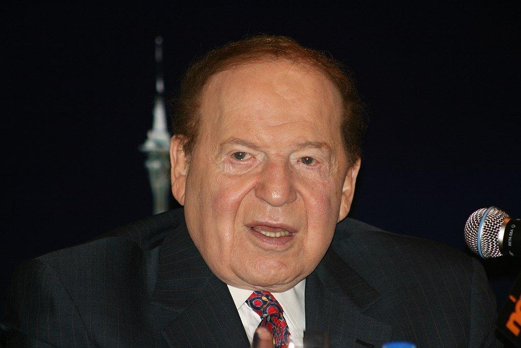 1024px Sheldon Adelson 19 June 2010