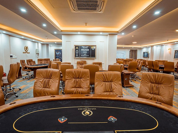 Lucas Palace Poker Room