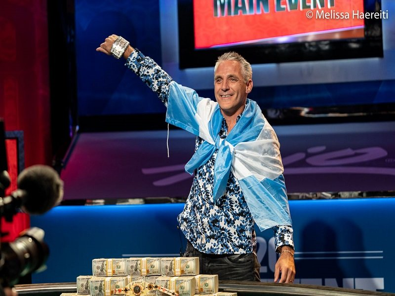 Argentina's Damian Salas crowned the 2020 WSOP Main Event champion