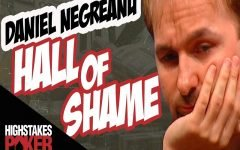 Daniel Negreanu Hall of Shame