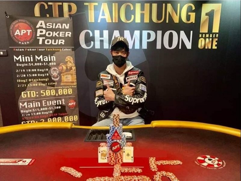 APT Taiwan 2021 underway; Kun Han Lee wins the opener; Main Event NT$ 2M GTD up next