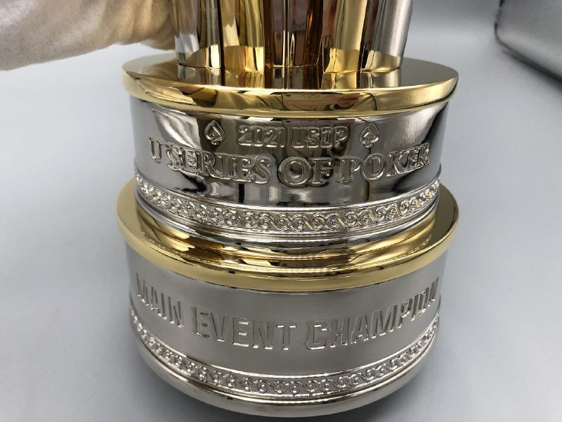 Upoker Main Event Trophy