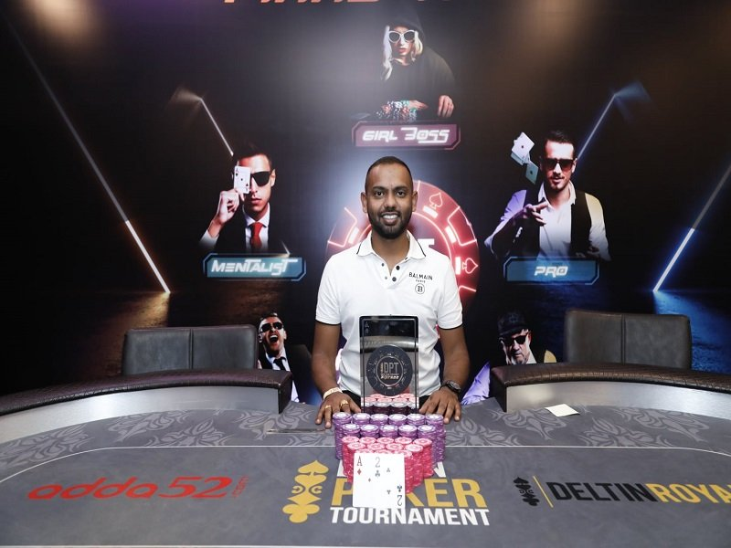 Deltin Poker Tournament delivers India's first live festival in nearly a year; Ramesh Rao Thotapalli wins the Main Event