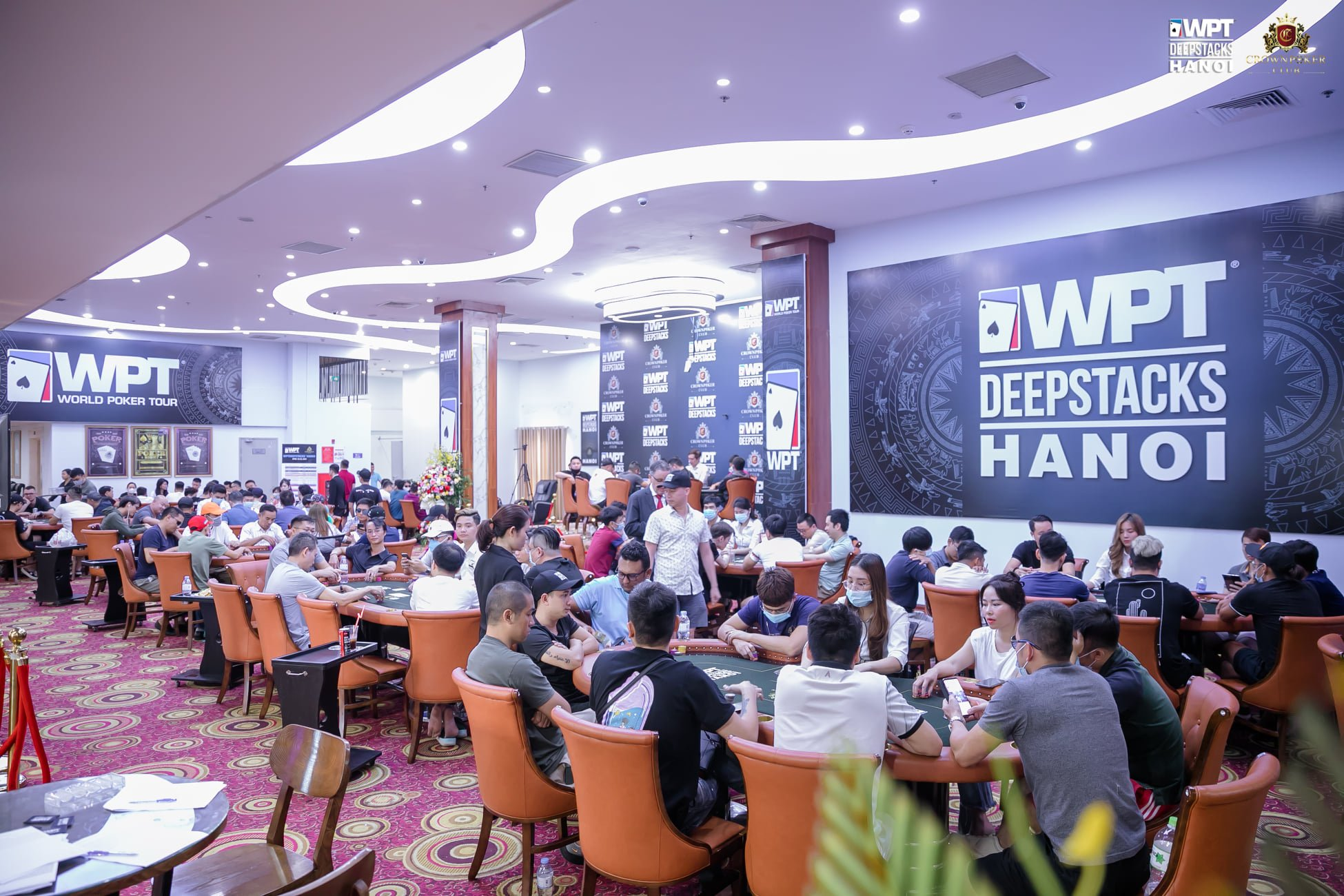 WPTDeepStacks Hanoi: Main Event crushes guarantee, 378 entries, 90 players advance led by Nguyễn Lê Quang; High Roller & Crown Poker Club Superstack Classic Freezeout up next