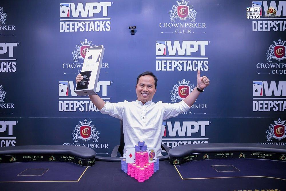 WPTDeepStacks Hanoi: Nguyễn Văn Phinh wins the Main Event and Player of the Series; Nguyễn Năng Quang, Nguyễn Mạnh Hưng, Hoàng Anh Tuẩn ship last events
