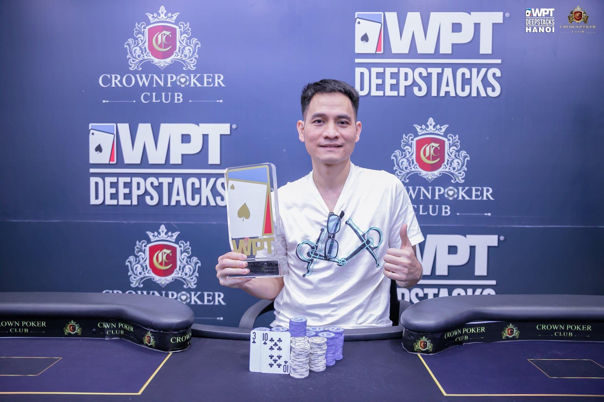 WPTDeepStacks Hanoi: Kimotsuki Yoshihito tops Main Event Day 1B; Đặng Văn Hiển clinches Super High Roller & Nguyễn Lê Quang wins PLO