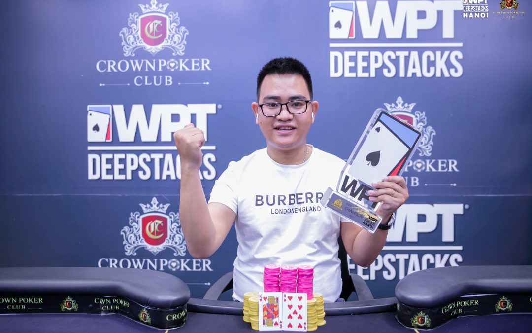 WPTDeepStacks Hanoi: Warm Up Event opens with 89 entries; two flights remain; Tạ Khánh Linh wins the Deepstack Turbo