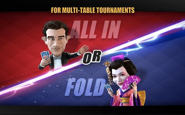 New on PokerBROS: All in or Fold Tournaments