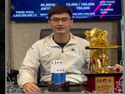 APL Hanoi pays out over US$ 550K; Huỳnh Ngọc Cường wins Main Event & Kickoff; Nguyễn Duy Vũ & Andre Lettau top high roller events
