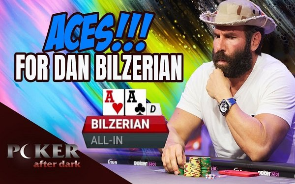 Videos of the Week: Dan Bilzerian Shows You How to Play Pocket Aces; When Poker Players hit QUADS and more…