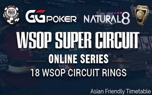 WSOP Super Circuit Online Series 2021 Schedule