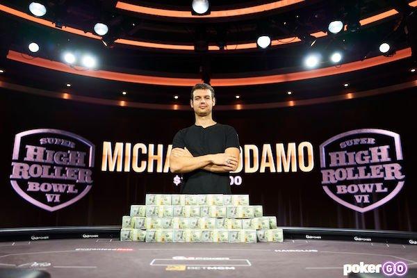 Addamo tops Australia's All-Time Money List following $3.4M Super High Roller Bowl win